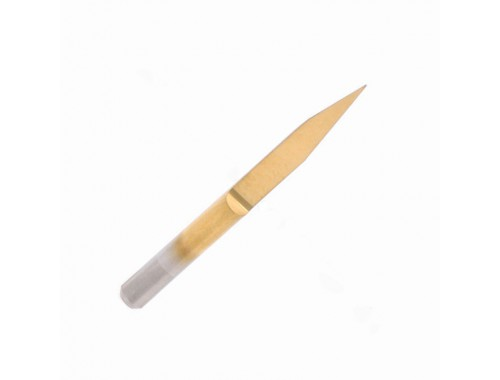 10° - carbide engraving bit - titanium nitride coated