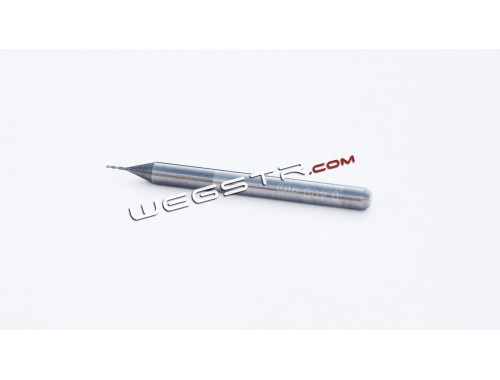 0.30 mm - two-flute carbide end mill
