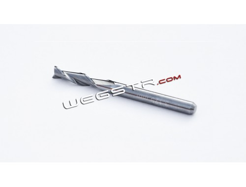 3.175 mm - two-flute carbide end mill