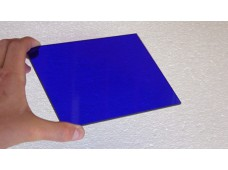 plexiglass blue - 165 x 125 x 3 mm