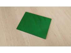 plexiglass green - 165 x 125 x 3 mm