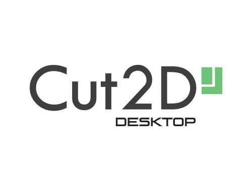 Cut2D Desktop designing software (electronic version)