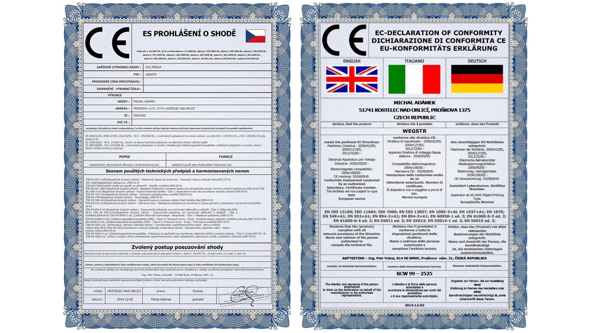 CNC Wegstr (English)