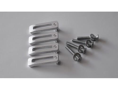 aluminum clamps 4 pcs